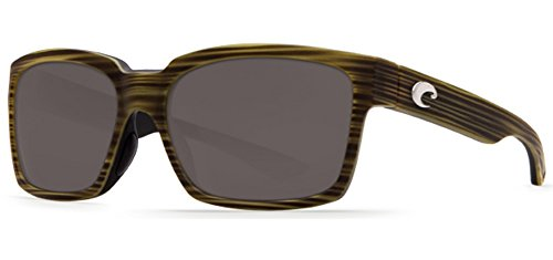 Costa Del Mar Playa Polarized Sunglasses Matte Verde Teak/Black