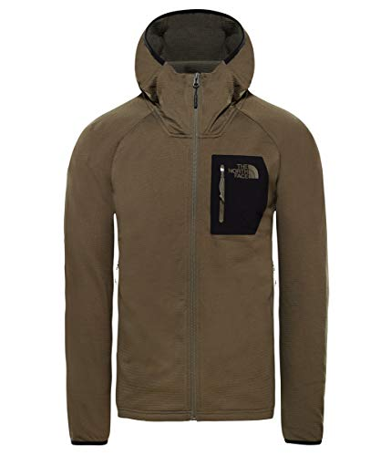 The North Face Men's Borod Hoodie, New Taupe Green/TNF Black, Size ()