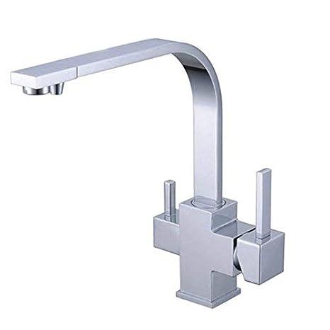 Amazon.com: 3 Vías llave de la cocina para Osmosis Inversa ...
