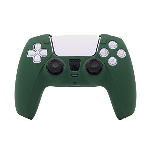 PS5 Controller Silicone Cover Case, PS5 Controller Skin Green