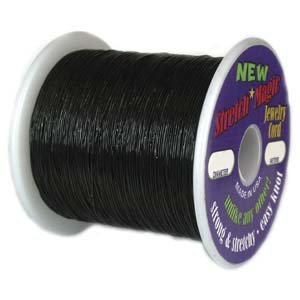 Stretch Magic Black Bulk Spool 1mm x 100 meters