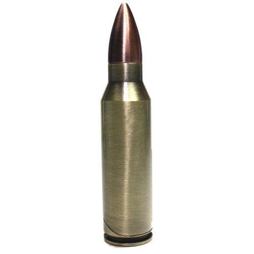 S26 Bullet Shell Refillable Butane Torch Lighter - 3 3/4 Inch -
