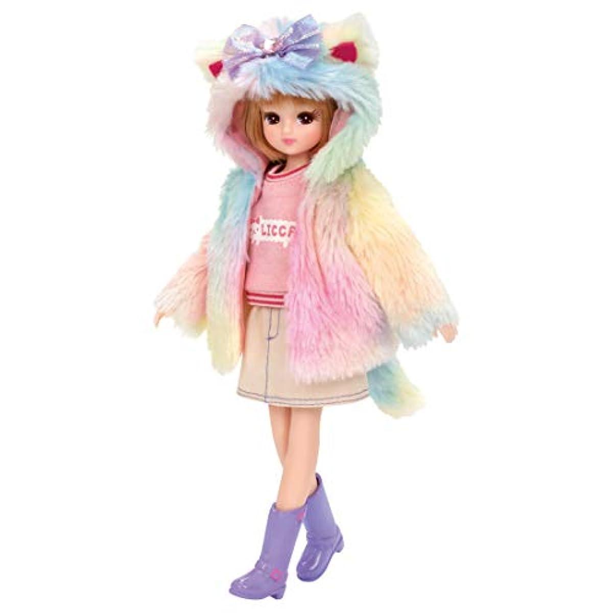 [해외] 타가라토미 리카짱 드레스 LW-16 모후모후 컬러풀 캣
