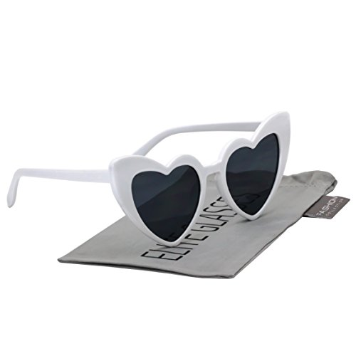 Fashion Love Heart Shaped Sunglasses For Women Girls Hippie Party Shade - Shaped Heart Shades