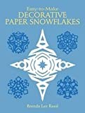 img - for [Easy-to-Make Decorative Paper Snowflakes] (By: Brenda Lee Reed) [published: March, 2003] book / textbook / text book