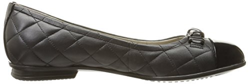 56119 black Donna Ballerine Touch Black ECCO Nero qFfAwxR