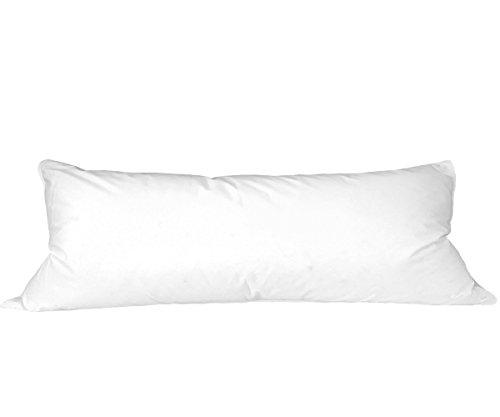 "Natural Comfort Standard Microfiber Pillow 20""X60"" PIP2060"