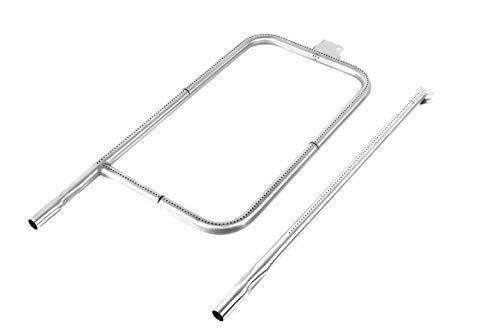 Broilmann 65032 60036 Burner Tube for Weber Q300, Q320, Q3000, Q3200, 404341, 57060001, 586002, Stainless Steel Grill Burner Tube Set Replacement for Weber Q Series