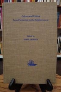 Culture and Politics from Puritanism to the Enlightenment (Publications from the Clark Library Professorship, Ucla ; 5)