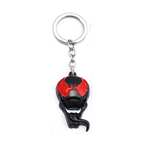 - VIET STAR New Hot Movie Venom Keychain Alloy Pendant Keyring Venom Spider Man Action Figure Toys for Fans Gift- Complete Series Merchandise - Legends Gifts Movies Comic Toys Collection