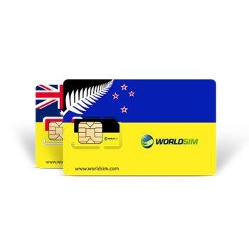 Tarjeta SIM WorldSIM Australia/Nueva Zelanda Incluye crédito ...