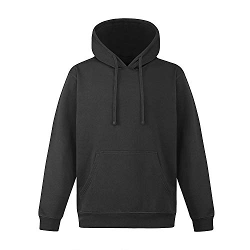 - Knit & Love Men's Classic Pullover Soft Touch Fleece Hoodie Sweatershirt