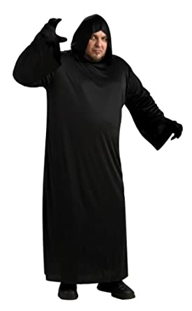 Rubie\u0027s Costume Black Hooded Robe Costume