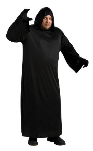 Rubie's Black Hooded Robe, Black, Adult Full Figure Costume]()