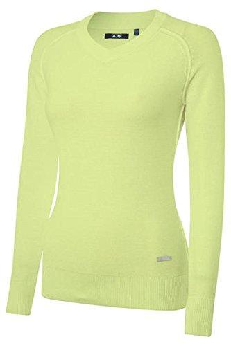 Adidas Essentials V Neck Damen Pullover gelb, Damen, M