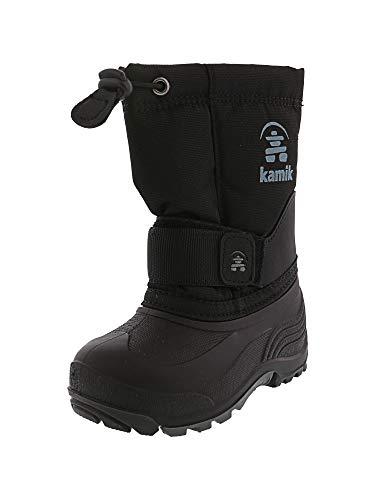 Kamik Rocket Cold Weather Boot (Toddler/Little Kid/Big Kid),Black,8 M US Toddler - Snowboard Inserts Boot