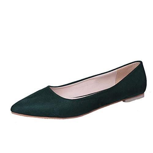 de Vestir Verde UFACE Size One para Sandalen de Sandalias Model Lona Mujer twfgq7