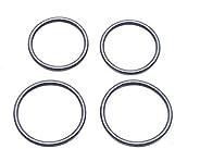 (2 Sets) Remington O-Ring Barrel Seals [OEM Spec Graphite Coated] for 1100 20 GA, 11-87 20 Gauge - All Models