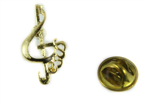 Note Lapel Pin - 6030385 Music Note & Jesus Lapel Pin Music Minister Volunteer Church Choir Lay Minister Clef Note