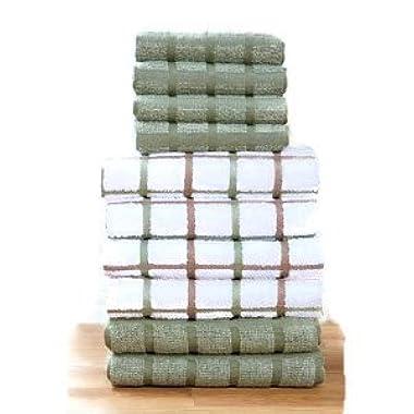 Terry Kitchen Towel Set-Sage