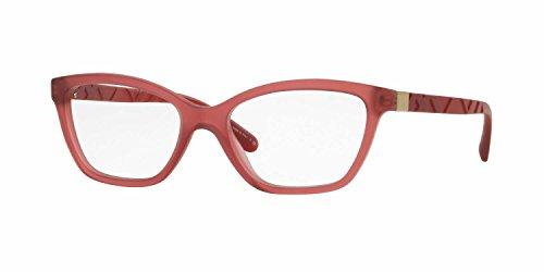 Burberry Women's BE2221F Eyeglasses Matte Red - Red Burberry Eyeglasses