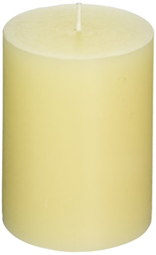 Tag 100063 3 by 4-Inch Unscented Long Burning Pillar Candle, (Pillar Candle Tag)