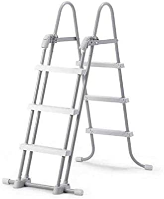 Intex 28075 Escalera de Piscina extraíble para Alturas de Pared 36 ...