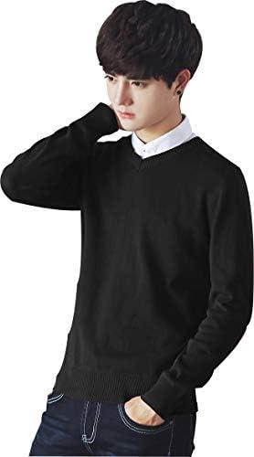 ニットセーター メンズ 長袖 カットソー 毛玉防止 無地 編み 春 秋 冬 ファッション シンプル 大きいサイズ おしゃれ 綿素材