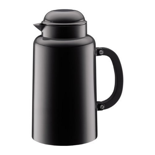 (Bodum Chambord 34-Ounce Thermo Double Wall Vacuum Carafe, Black)