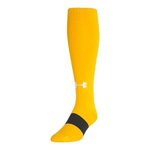 - Under Armour UA Soccer Solid Over-The-Calf LG Steeltown Gold