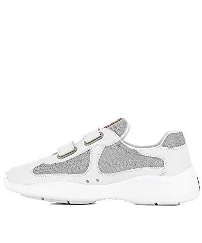 Donna Sneakers Tessuto 1e796i6gwf0j36 Prada Bianco 5zgO4nP