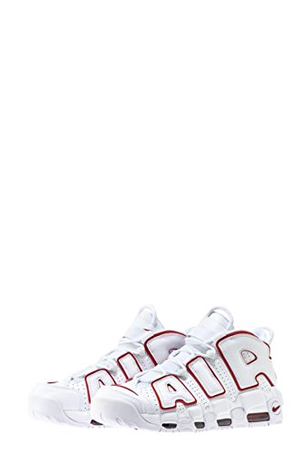 NIKE Uptempo White White More Red Air 39 Número Varsity AAw1f7Pxq