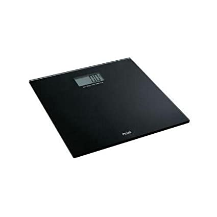 18ebade9f3d5 American Weigh Scales Talking Precision Bathroom Weight Scale, Black, 220Lbs