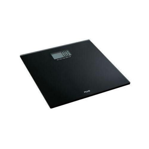 American Weigh Scales Talking Precision Bathroom Weight Scale, Black, 220Lbs
