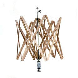 Toika Wood and Metal Swift for Winding Yarn for Knitting, Weaving, Crochet by Toika (Image #1)