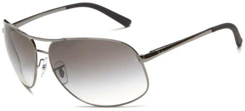 d02df11489 Ray-Ban RB3387 Aviator Wrap Sunglasses 64 mm
