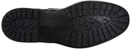 C9999 Classiques black D Noir Geox amp; Bottines Bottes U Kapsian Homme Y6wq1v6