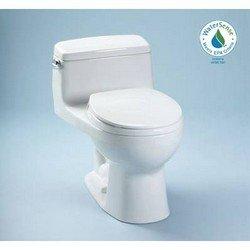 Eco Supreme Toilet with SoftClose Seat Finish: Bone