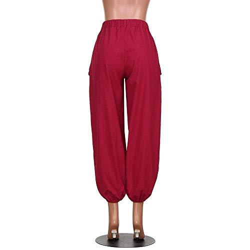 Larghi Schwarz Donna Jogging Jersey Harem Chino Gamba Slim Allentati Jeans Da Aderenti Jazz Costume Boyfriend Pantaloni Sportivi Rilassato g1wEZxTqn