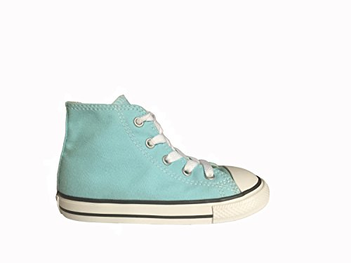 9885cc072a6 Galleon - Converse Unisex Baby Chuck Taylor All Star Seasonal Hi (Inf/Tod)  - Poolside - 5 Infant