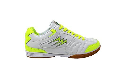 Agla Futsal Scarpe Fluo Da Bianco giallo Indoor F 40 Fwq4xFr
