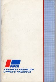 Piper Cherokee Arrow 200 Owner's Handbook