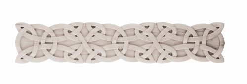 Gaelic Carved Wood Onlay without Border, Large, Cherry -