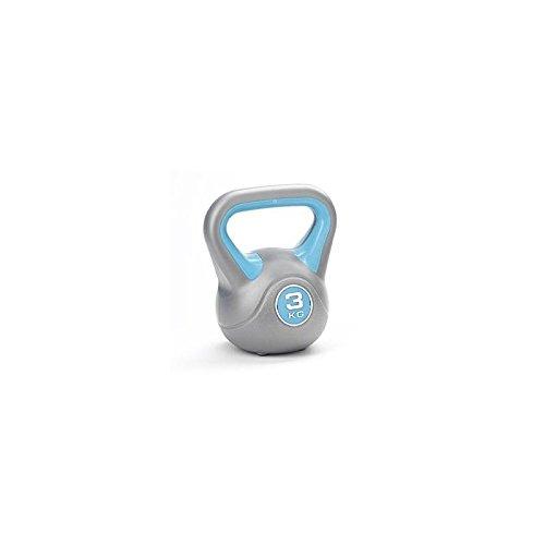 LiveUP Sports - Kettlebell 3Kg Fer Vinyl Poids Entraînement Fitness CrossFit Training Haltère