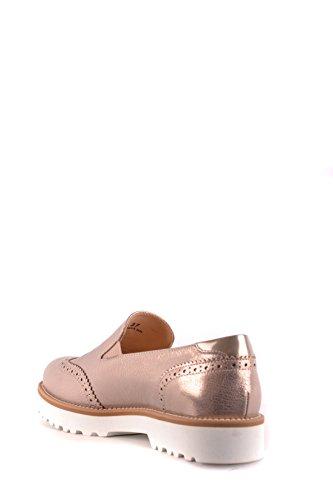 Hogan Women's MCBI148424O Bronze Leather Loafers jLwB3