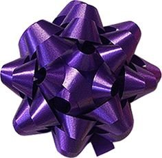 36-50 Peel-n-Stick Bows Luxury Designer Random Assortment - Metallic, Iridescent, Holographic, Glitter, Swirls, Matte, Classic Lacquer Finishes in a Variation of Sizes (Purple) ()