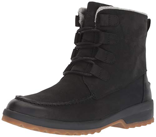 SPERRY Women's Maritime Cruz Ankle Boot, Black, 6 M US (Size Womens 6 Sperry)