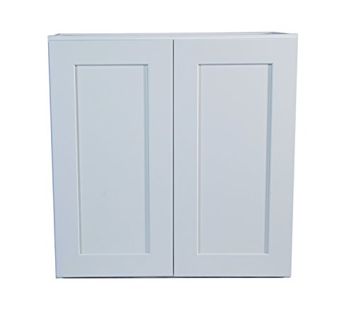 Design House 561571 Brookings 24-Inch Wall Cabinet, White Shaker