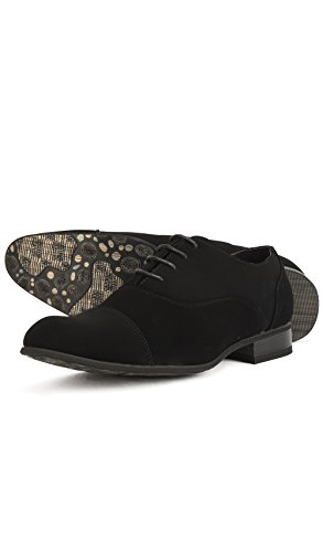 Perm Punta a Scarpe Uomo Shoes Lacci Reservoir Rotonda con wTZ678