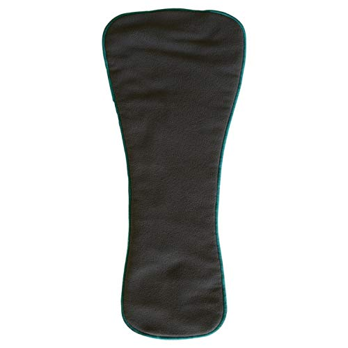 Teen/Adult Charcoal Bamboo Insert: for Incontinence Cloth Diapers 1-pack (Snap-in Insert ONLY, Extended)